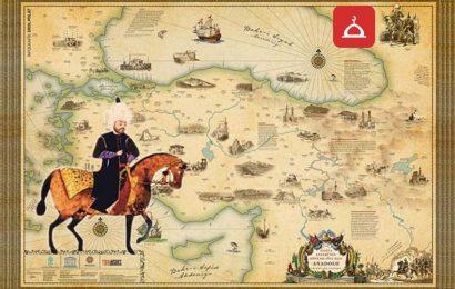 evliya celebi ve haritasi
